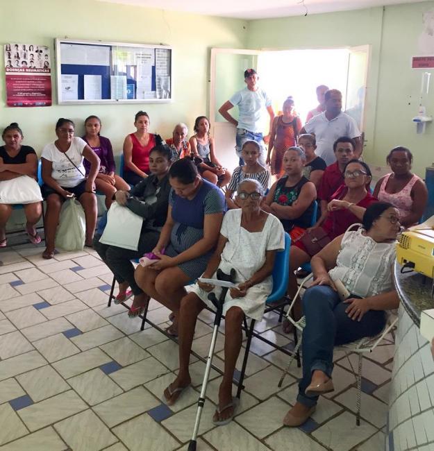 Nasf de Francisco Ayres alerta população sobre cuidados com saúde mental