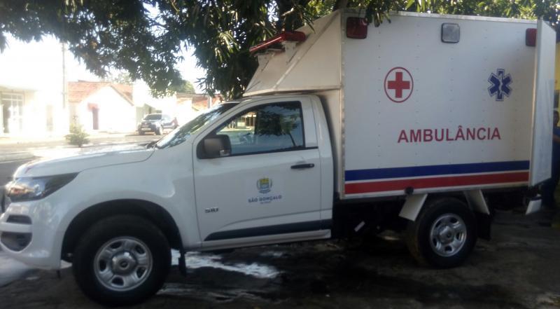 São Gonçalo do Piauí é contemplado com ambulância