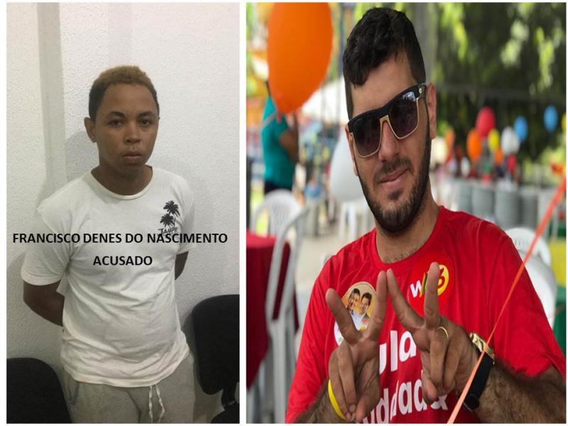 Acusado de matar militante do PT em Teresina é preso no Norte do Piauí