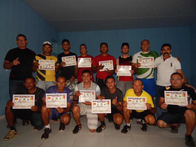 Secretaria de Esportes realiza curso de arbitragem