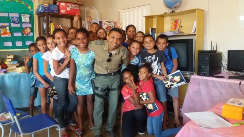 Depoimento do policial Jeferson Costa sobre o PROERD em Santa Filomena