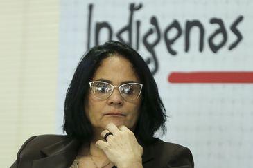 FOTO: A ministra da Mulher, da Família e dos Direitos Humanos, Damares Alves - Marcelo Camargo/Agência Brasil