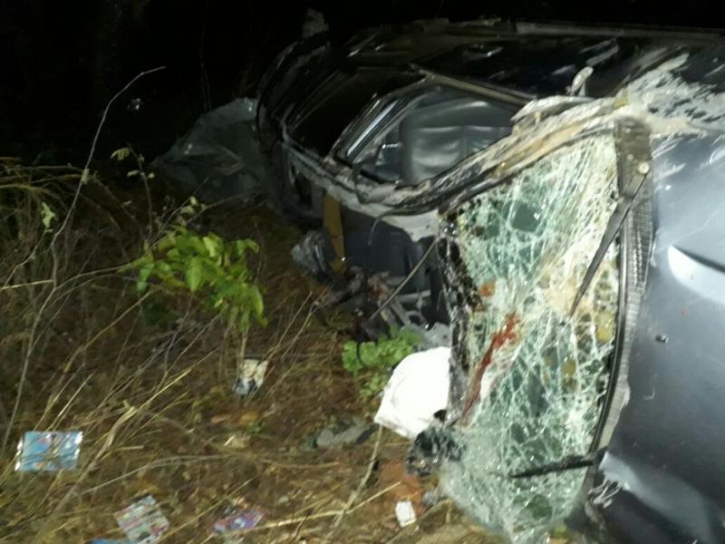 Acidente deixa cinco pessoas mortas na BR 316
