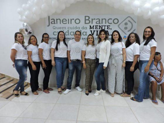 """Ação em prol da campanha """"Janeiro Branco"""" é promovida em Coronel José Dias"""