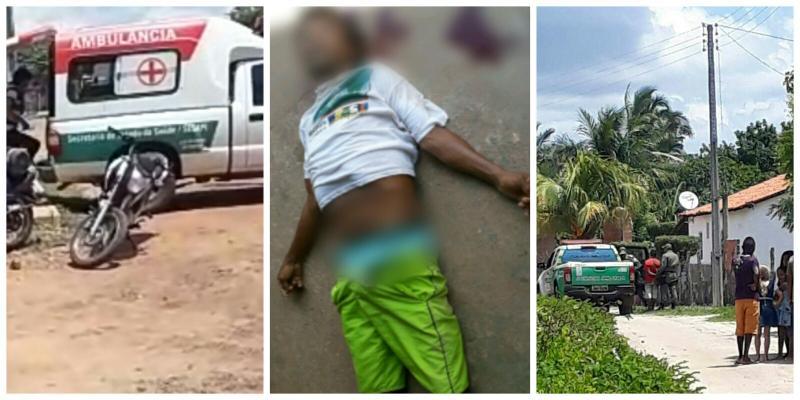 Homem fica gravemente ferido após ser agredido em São João do Arraial