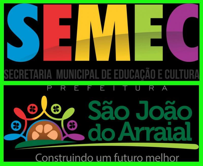 Convite para abertura da jornada pedagógica 2019 em São João do Arraial