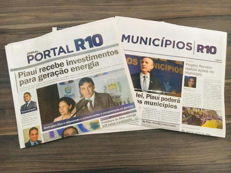 Lançada primeira edição do Jornal Portal R10