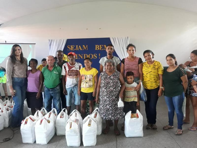 Prefeitura de Água Branca faz primeira entrega de cestas básicas de 2019