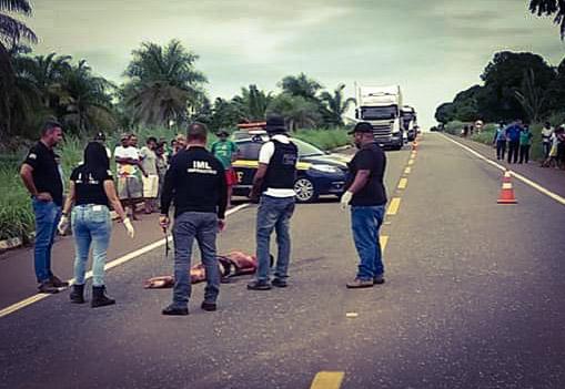 Pedestre morre atropelado ao tentar atravessar a BR-010