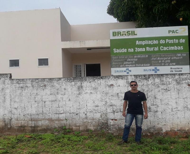 Vereador Henrique Guerra visita posto de saúde e ouve demandas da comunidade