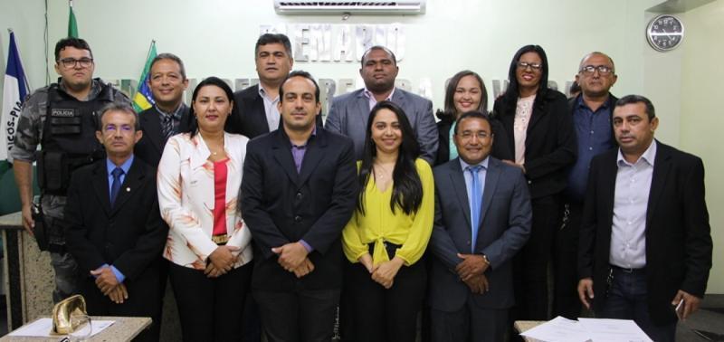 Câmara de Jaicós realizou sessão de abertura dos trabalhos legislativos