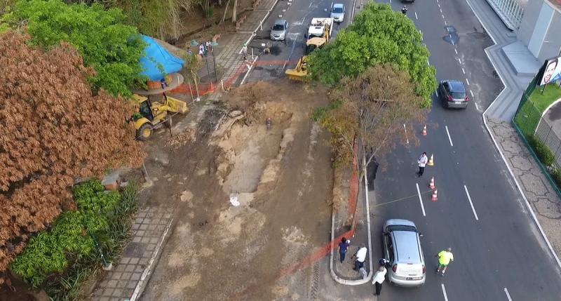 Trecho da Avenida Raul Lopes é interditado até segunda-feira (04)