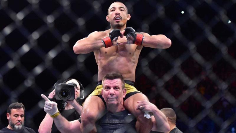 Aldo comenta declaração de McGregor sobre lutar no Brasil