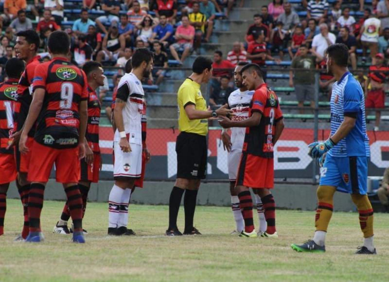 River e Flamengo empatam no primeiro duelo entre as equipes pelo Piauiense