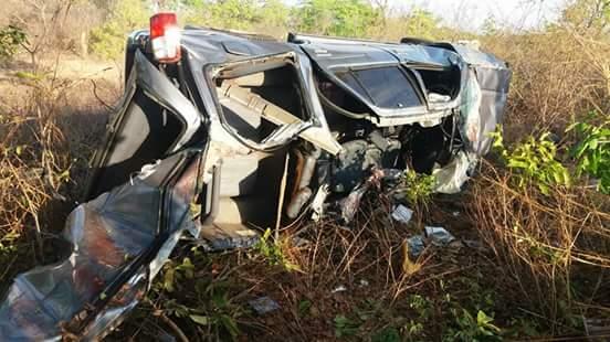 Um trágico acidente foi registrado na noite desta terça-feira, 21, na BR 316, próximo a Inhuma