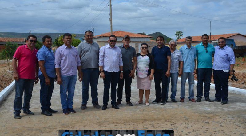 Prefeito visitou obras no município de Lagoa do Barro