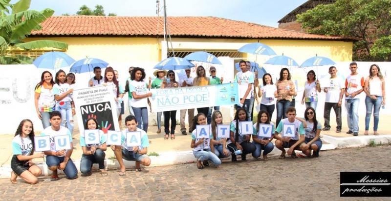 Paquetá realizou caminhada no Dia D de combate à exclusão escolar