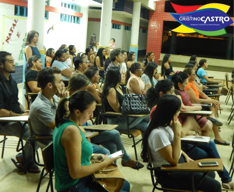 PNAIC, realizou Seminário Municipal de Educação em Cristino Castro-PI