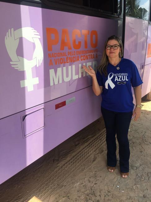 Lagoa do Piauí recebe Programa de enfrentamento à violência contra a Mulher