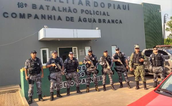 Operação Médio Parnaíba Seguro é realizada por policiais do 18º BPM