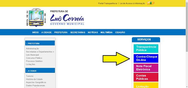 Suspeita de atraso de Pagamento prefeitura de Luis Correia está sem Emissão