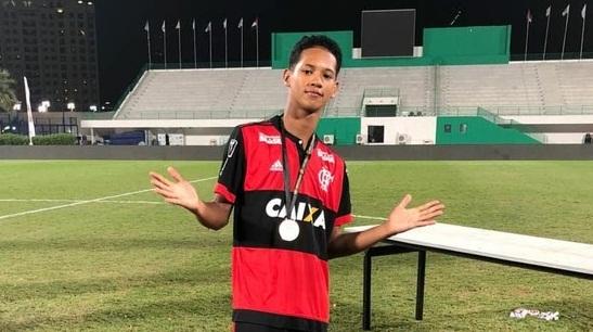 Piauiense estava no CT do Flamengo e escapou ileso