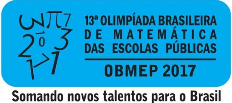Alunos agricolandenses são premiados na OBMEP 2017