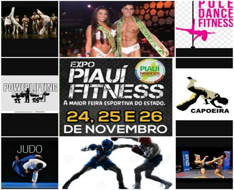 Expo Piauí Fitness começa nesta sexta-feira em Teresina