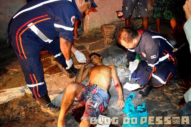 Jovem é esfaqueado em tentativa de homicídio no Piauí