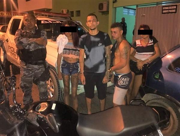 Criminosos são presos em Teresina após efetuarem arrastão em Água Branca e São Pedro