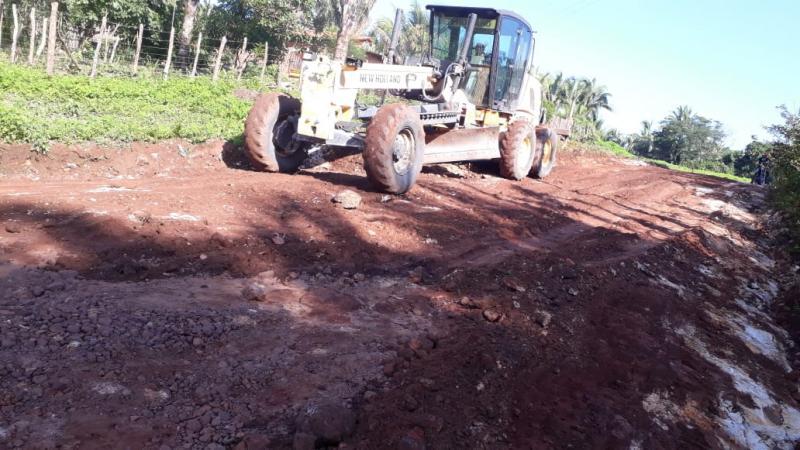 Prefeitura de São João do Arraial inicia trabalho de recuperação de estrada