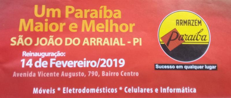 Reinauguração do Armazém Paraíba São João do Arraial será quinta-feira (14)