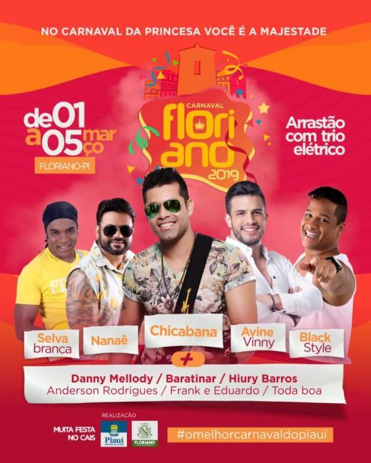 Carnaval Floriano 2019