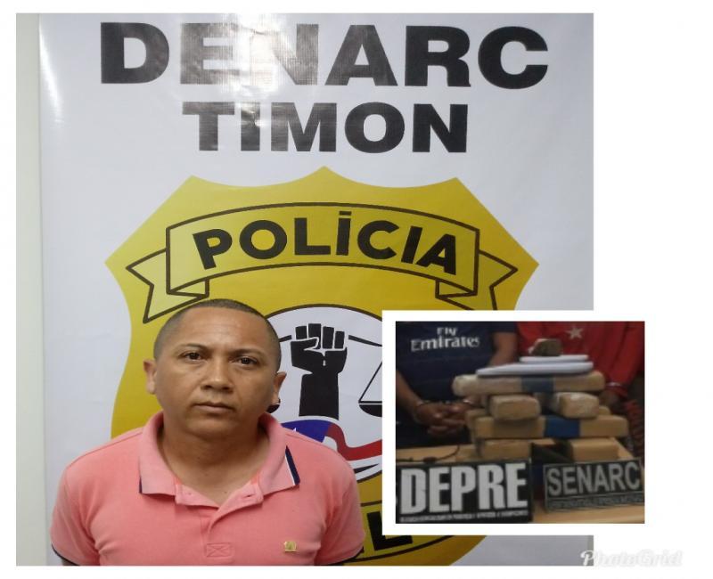 Denarc/Timon cumpre mandado e prende homem acusado de Tráfico