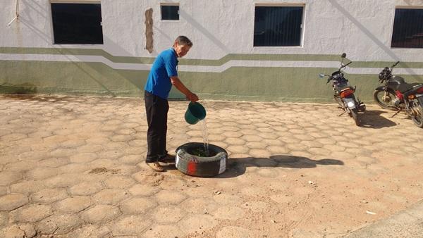 Plantando a árvore símbolo de Colônia do Gurgueia, adote uma