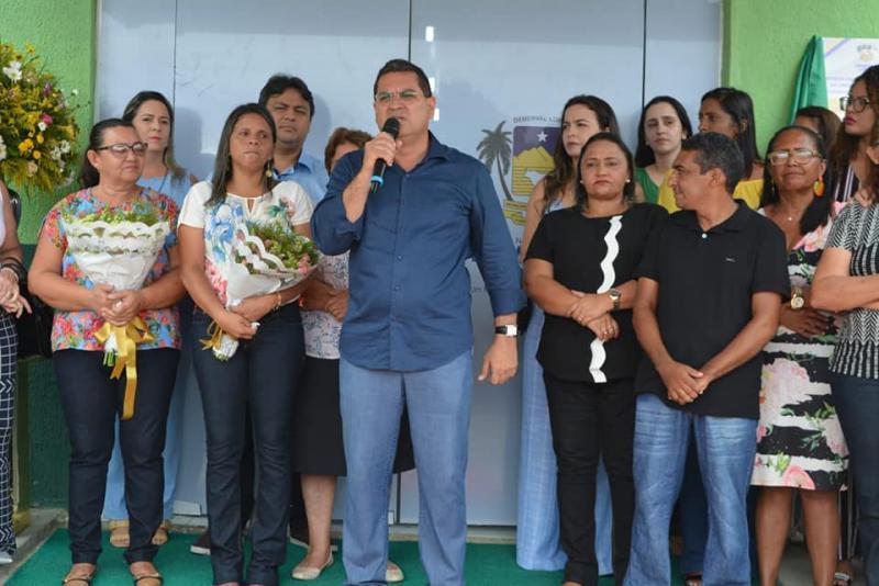 Prefeitura de Demerval entrega sede da UBS do bairro Piaçava
