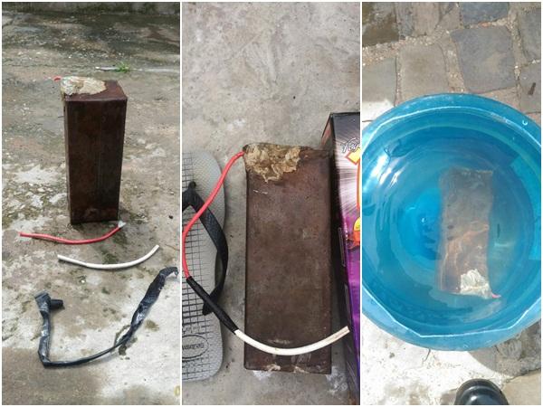 Bope apreende artefato explosivo dentro de residência em Teresina