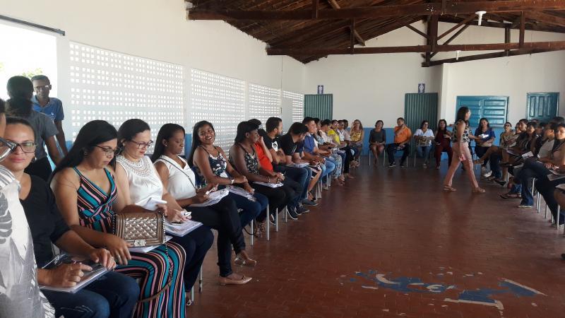 Unidade Escolar Narciso Almeida realiza 1° encontro pedagógico de 2019