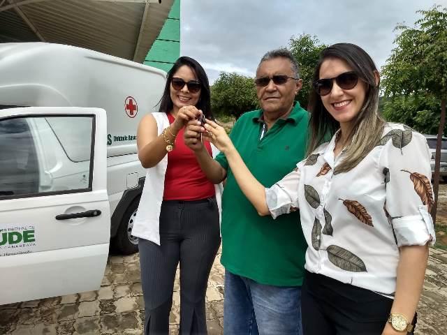 Prefeita Mércia Abreu destaca investimentos na Saúde