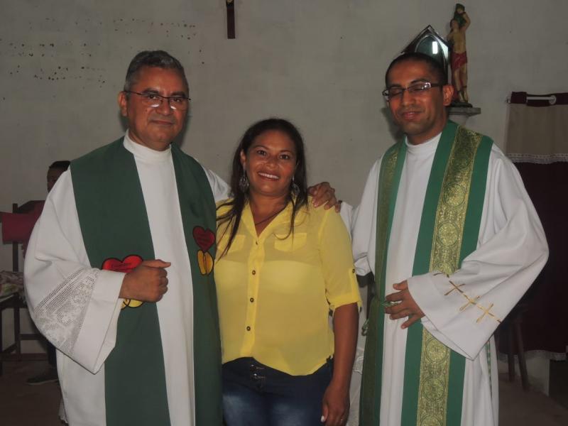 Santa Missa de Posse da coordenadora na comunidade Murici em Camp Largo-PI
