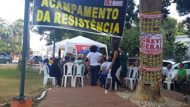 Trabalhadores da Educação farão manifestação na segunda-feira