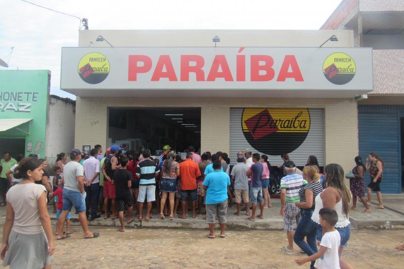 Reinaugurada nova loja do Armazém Paraíba em São João do Arraial