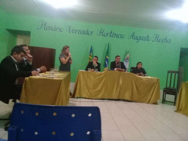 Veja como foi a abertura dos trabalhos do poder legislativo municipal