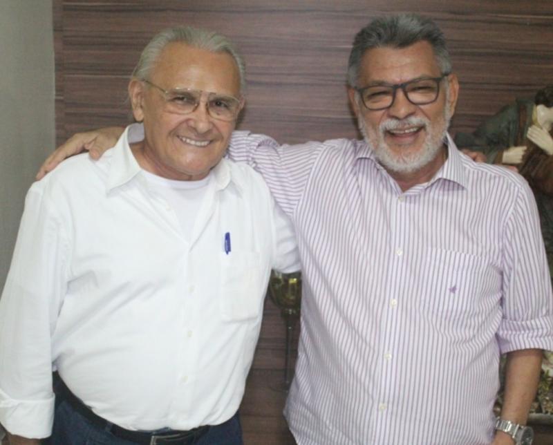 Ministro Edson Vidigal faz visita de cortesia ao vereador Catulé em Caxias