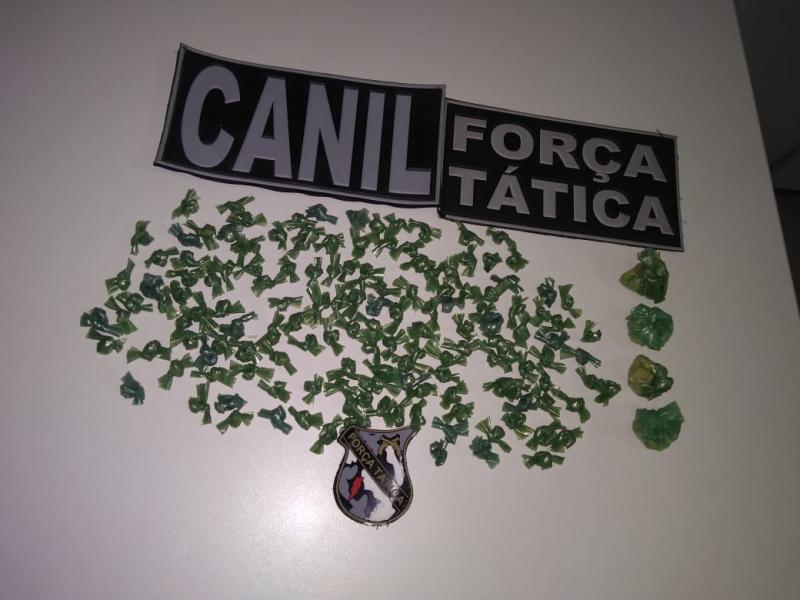 Picos: Quatro pessoas são presas suspeitas de tráfico de drogas