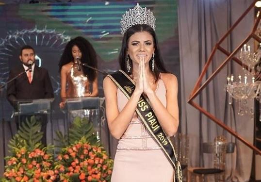 Dagmara Landim foi eleita a Miss Piauí Be Emotion 2019