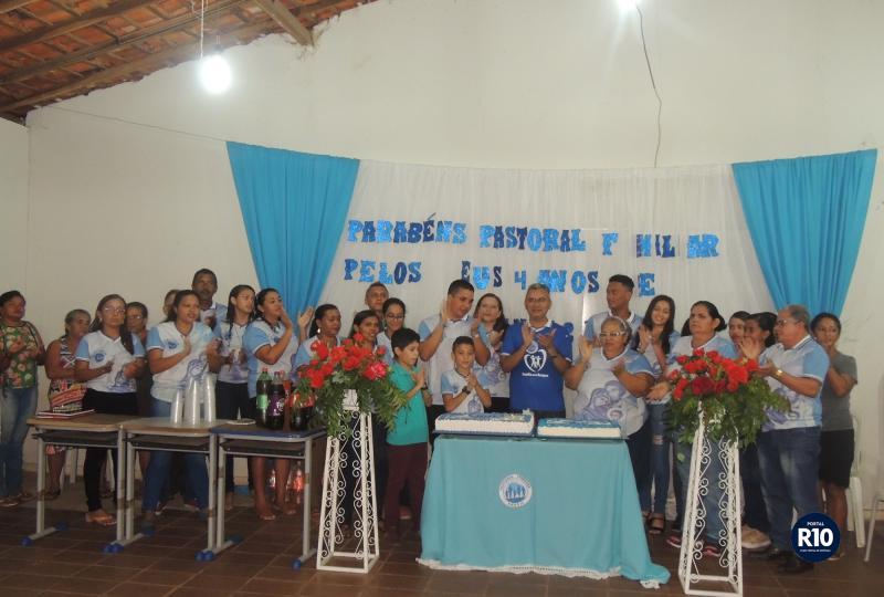 Membros das Pastoral Familiar (Foto: RF Fotografias)