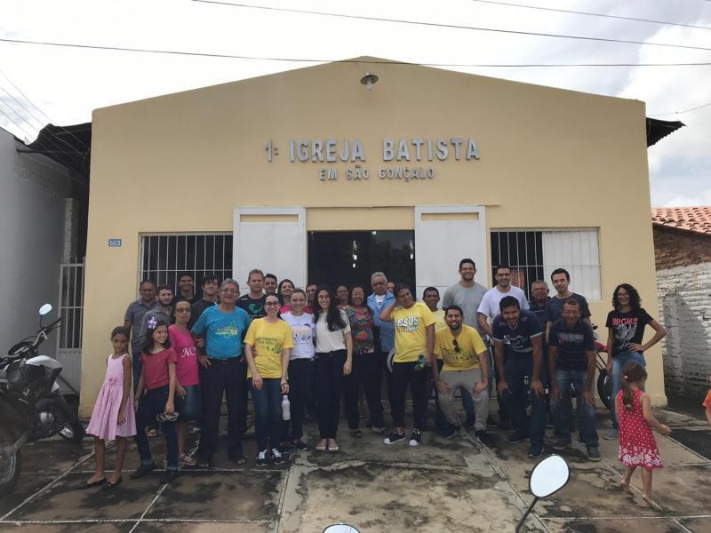 Ação social é realizada pelas Igrejas Batista de São Gonçalo-PÍ e Teresina