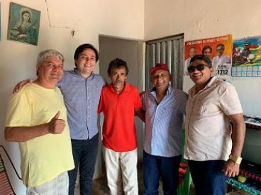 Pompilim cumpre agenda de visitas em São Miguel do Tapuio