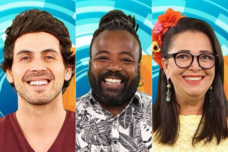 BBB19: Maycon, Tereza e Rodrigo estão no paredão